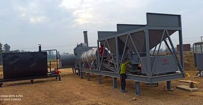 MOBILE DRUMMIX PLANT INSTALLED AT NEPAL